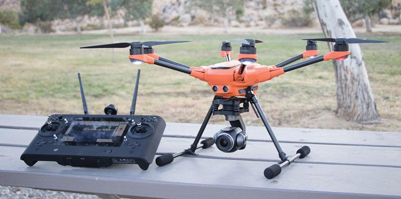 Επαγγελματική λήψη με Drone